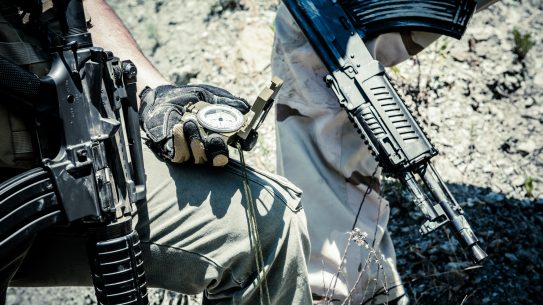 Dead Reckoning, Land navigation with a compass is a major component to military training.