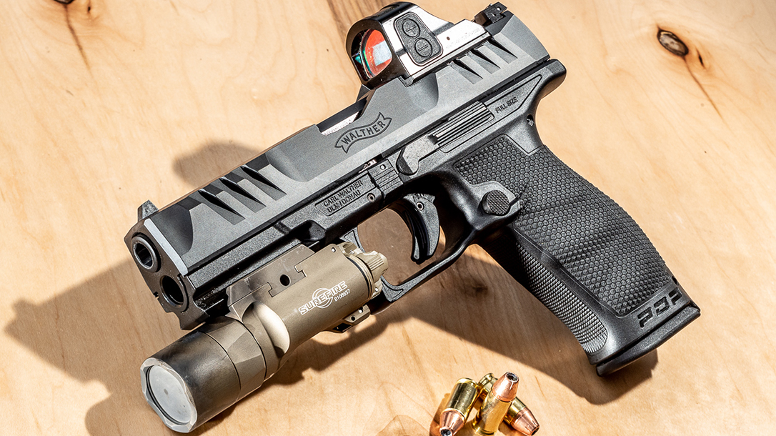 Walther PDP Full Size pistol, reup