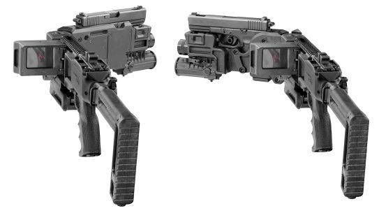 Corner Shot gun, lead