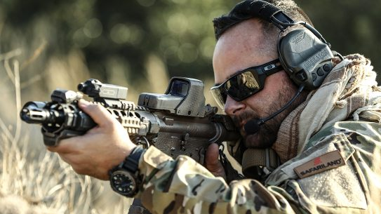 The Safariland Liberator headset delivers advanced capabilities for military and LE operators.