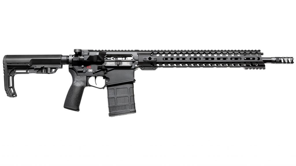 The Revolution DI uses the same length bolt carrier assembly, handguard, barrel extension, charging handle and upper/lower receiver as an AR-15.