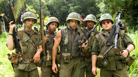 Tropic Thunder delivered many memorable moments for military fans.