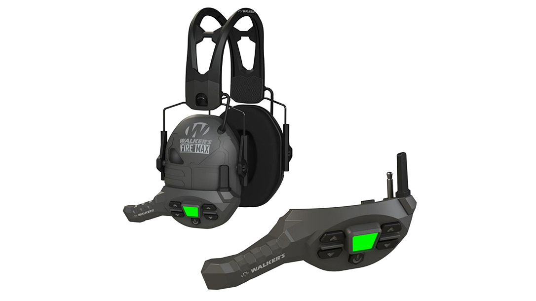 The Walker's FireMax provides a versatile comms system on the range.