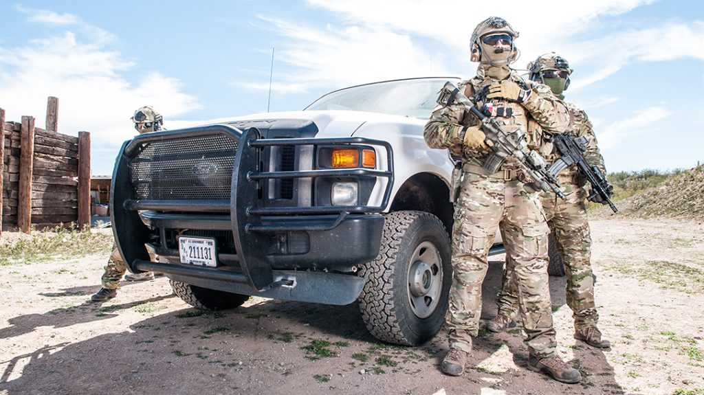 Concealed surveillance and sniper skills are invaluable along the border