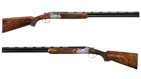 The Chapuis Faisan over-under shotguns come in two high grade options.