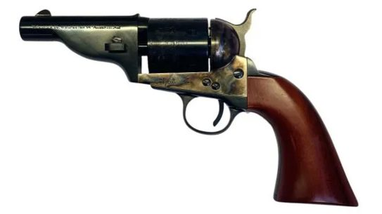 Taylor's & Company's the Hickok comes in .45 Long Colt and .38 Special.