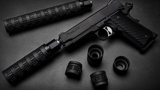 The adjustable SIG MODX-45 delivers lots of versatility in a suppressor.
