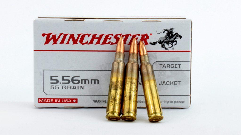 Winchester 55-grain FMJ.