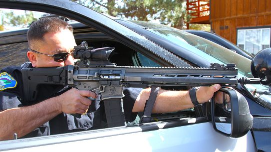 With a folding stock, left-side cocking handle and a quick-change barrel, DRD Tactical's Aptus is unique among AR platforms.