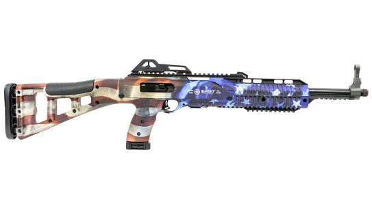 The Hi-Point Grand Union Flag carbine comes right in time for July 4th.