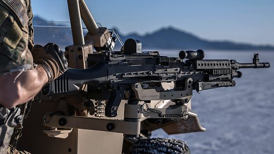 The U.S. Army recently awarded a contract for more FN M240 machine guns and receivers.