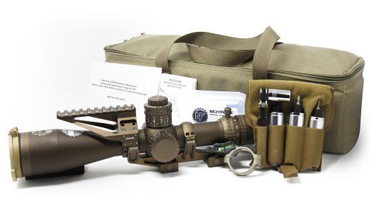 SOCOM selected the Nightforce 4-20x50 ATACR riflescope.