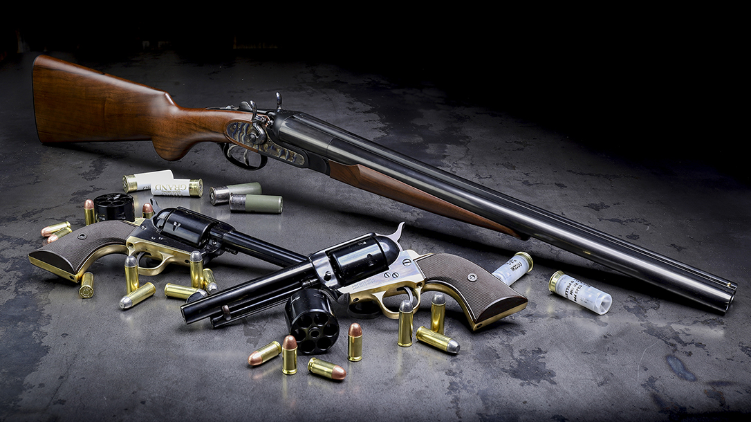 Three new releases from Davidson's include a pair of single-action revolvers and a coach gun.