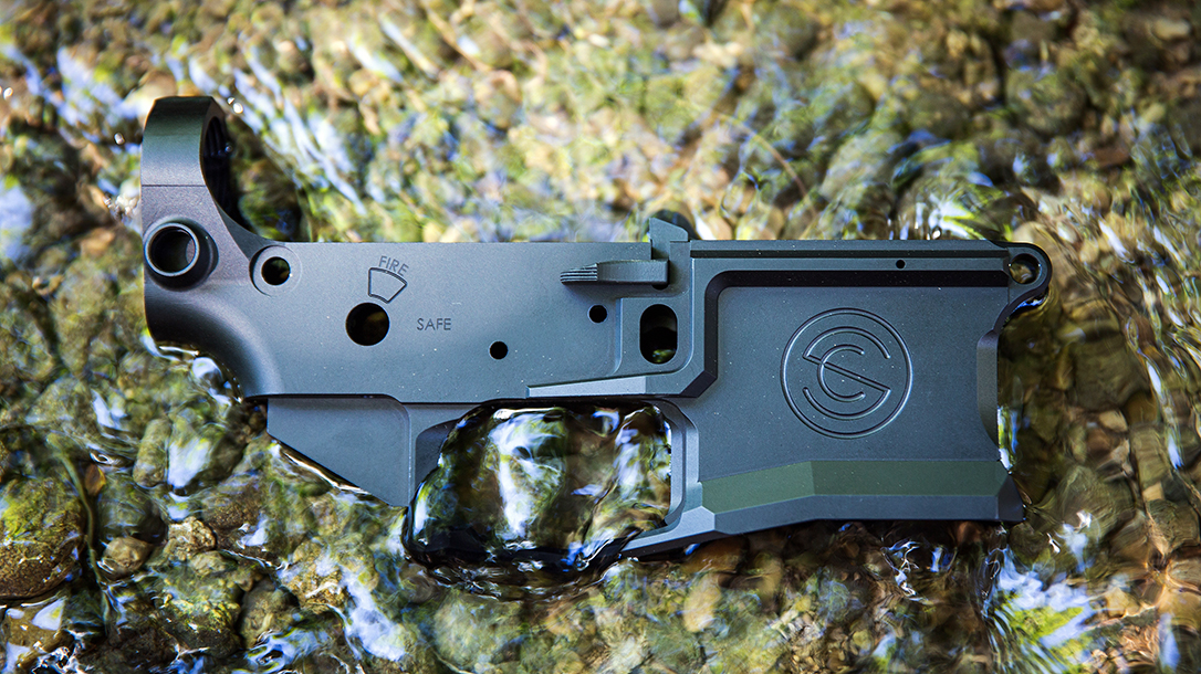 The SilencerCo SCO15 lower now ships to most distributors.