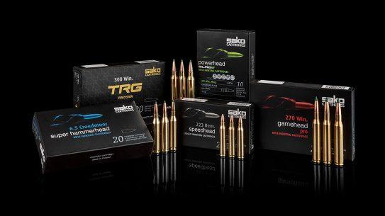 New Sako cartridges offer a full line of rifle ammo.