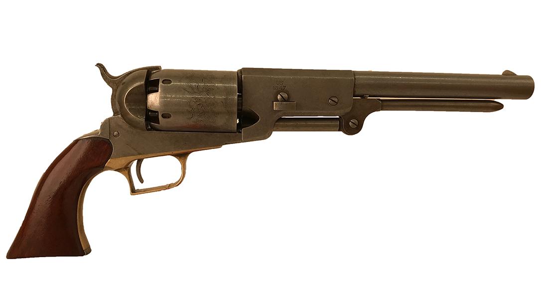 Samuel Walker co-designed the 1847 Colt Walker.