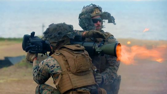 The Marine Corps' new MAAWS recoilless rocket launcher packs a big punch.