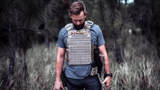 The Premier Body Armor Core Plate Carrier comes in a lightweight design.