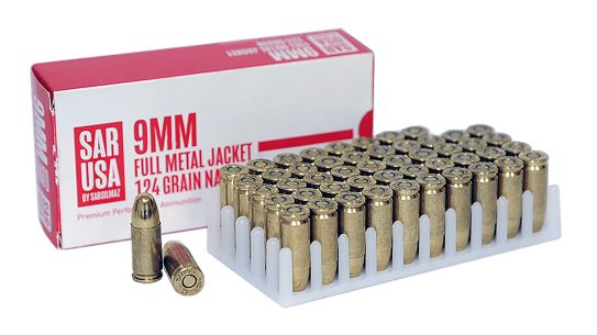 SAR USA Ammunition brings new 9mm loads to market.