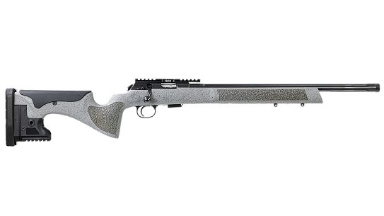 The CZ 457 LRP comes chambered in 22 LR.
