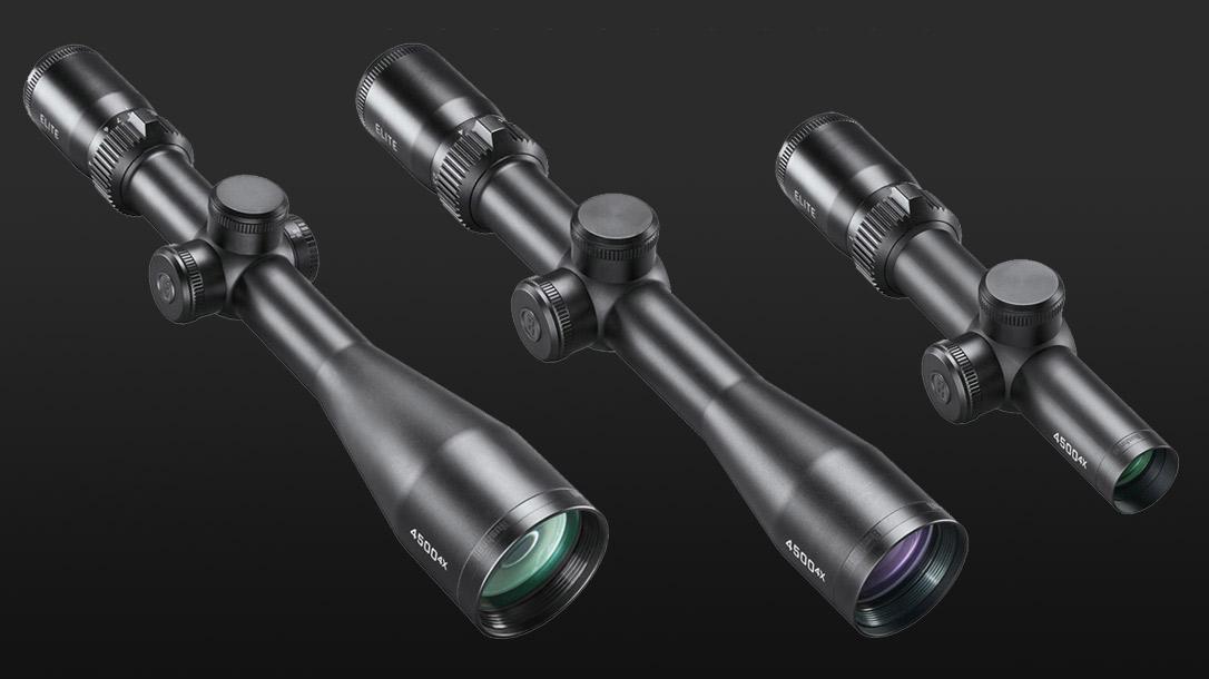 The Bushnell Elite 4500 lineup of Riflescopes.