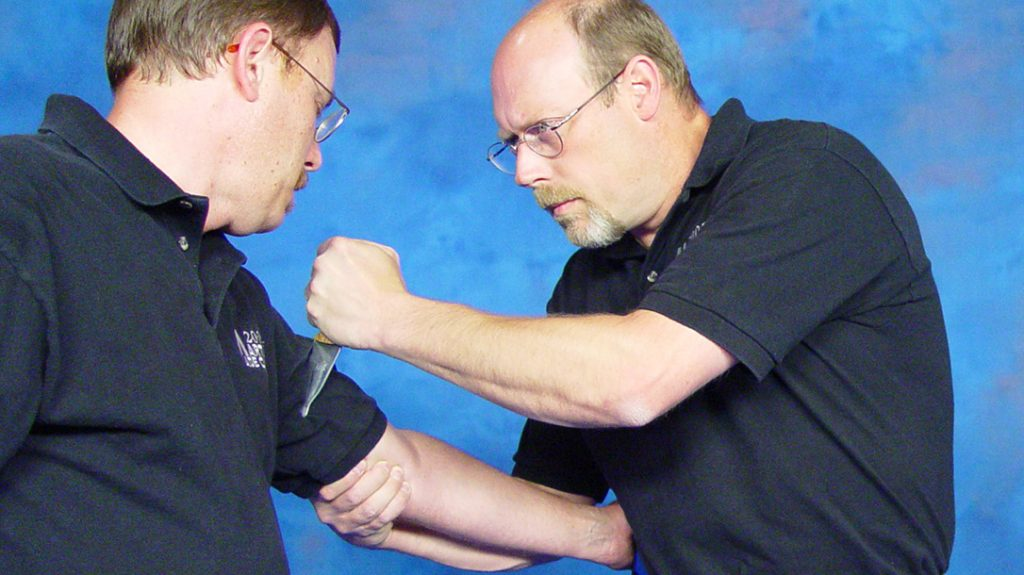 Then, defang the snake by severing the bicep muscle. This takes that arm out of the fight.
