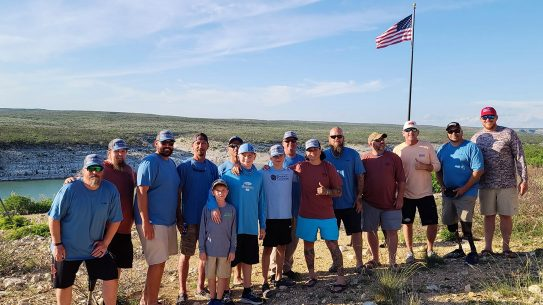 Military Warriors Support Foundation hosts programs like Skills 4 Life, with events like the Smith Industries Fishing Trip.