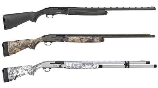The Mossberg 940 Pro Series brings Field, Waterfowl and Snow Goose models.