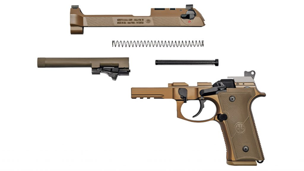 The M9A4 is easily maintained with toll-free disassembly.