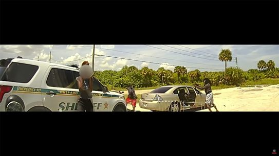 Dashcam footage shows the moment two Florida Deputies were Ambushed.
