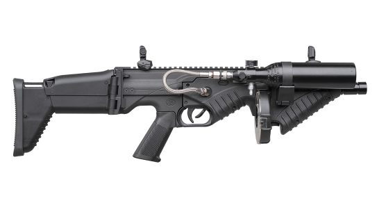 The FN 303 Tactical Less Lethal.