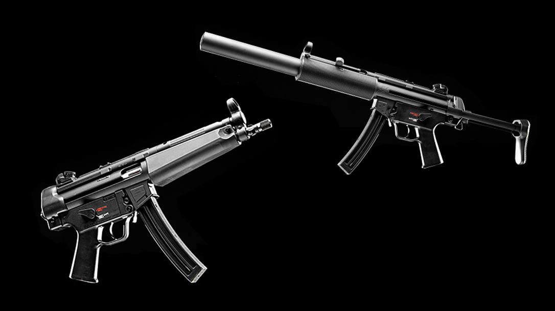The HK MP5 Rimfire 22.