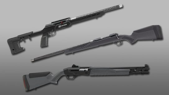 6 Savage Arms Rifle Configurations.