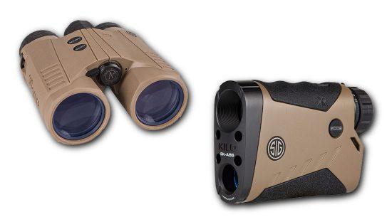 Two SIG Sauer Rangefinder models.