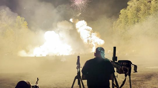 The final Knob Creek machine gun shoot took place in Oct. 2021.