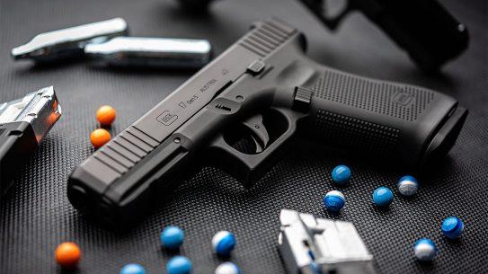 The Glock 17 Gen5 T4E Paintball.